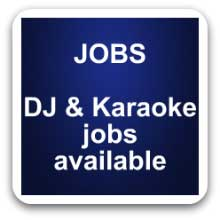 dj and karaoke jobs