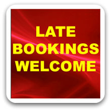 Late Entertainment Bookings Welcome